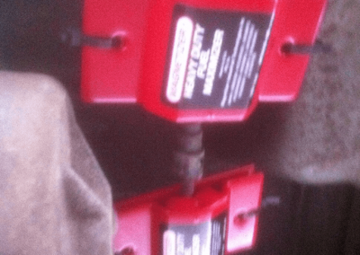 Magnetizer on Jeep hight Pressure Pump under the chassis as part of the Engine Energizer System