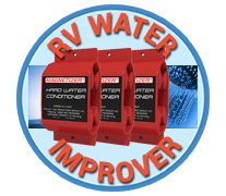 Magnetizer Water Improver for your RV, motorhome, fifth wheeler, camper. It will get you better tasting water for your motorhome travel.