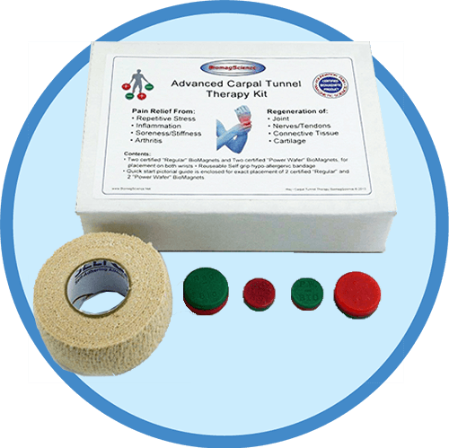 Biomagnetic Carpal Tunnel Therapy Kit