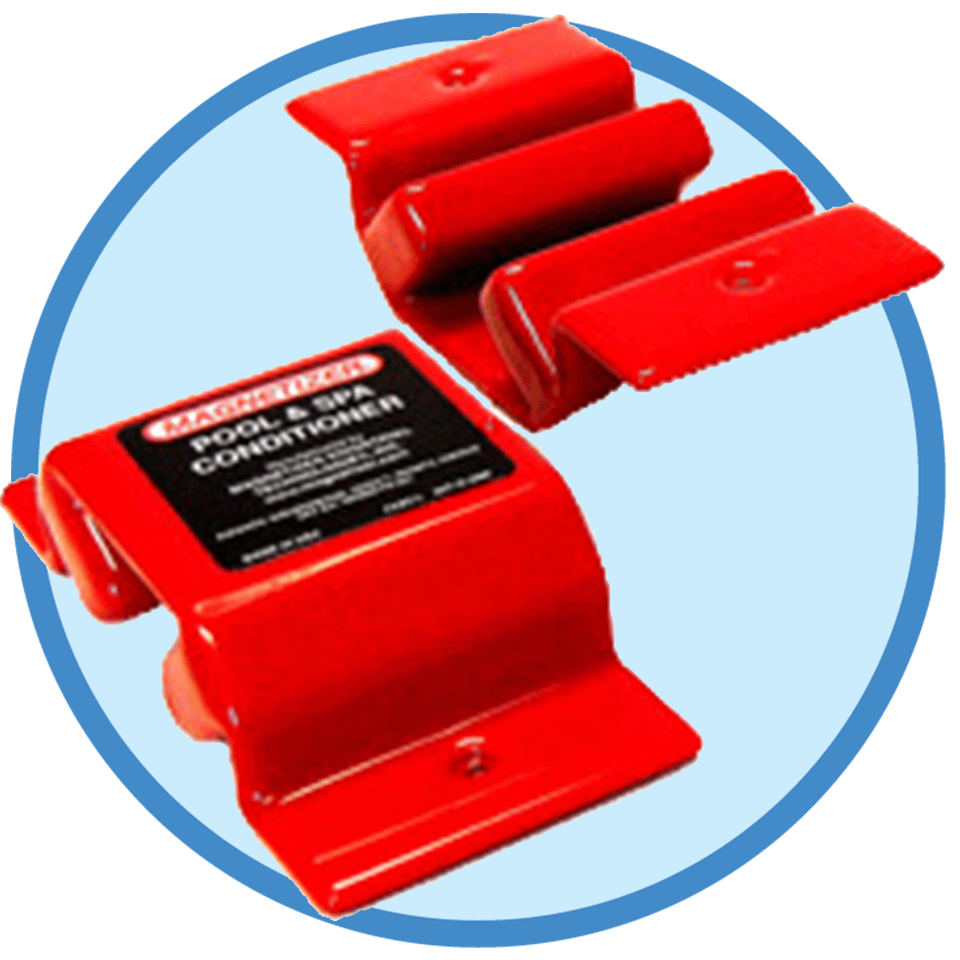 Pool & Spa Magnetizer for reduced chlorine and better swimming experience