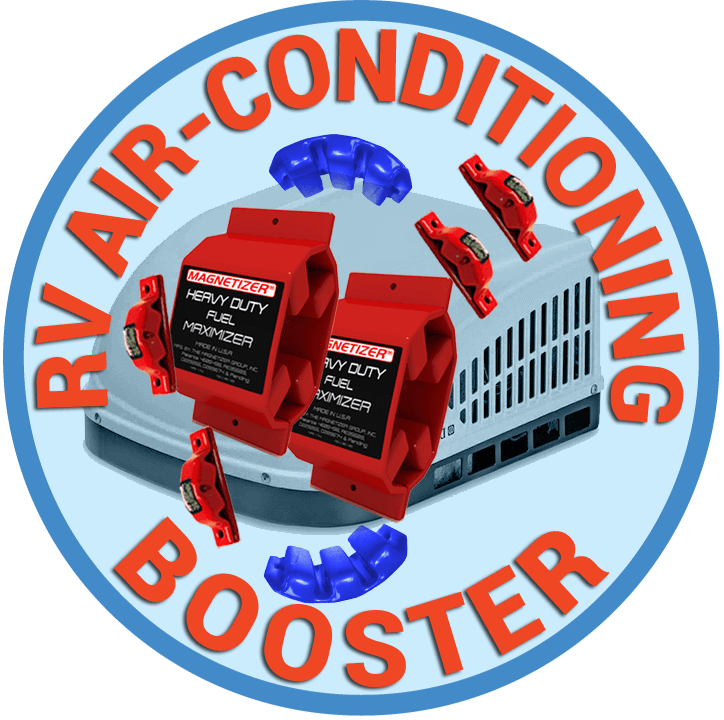 Magnetizer improves Air Conditioning system in RV's