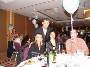 After a hospital fundraiser and tango with Beatriz Cisneros and friends in Dublin, Ireland