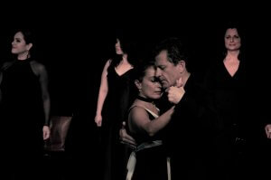 Tango show in Teatro LATEA with Laurence Martin