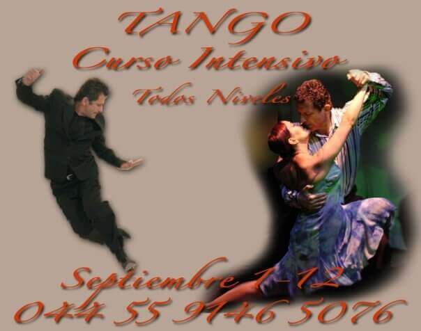 Tango Classes Poster