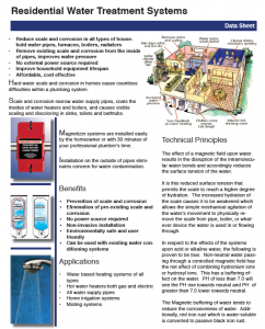 Magnetizer Residential Water Energizer System
